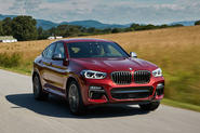 BMW X4 2018 road test review hero front