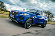 Jaguar E-Pace 2018 review hero front