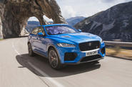 Jaguar F-Pace SVR 2019 first drive review - hero front