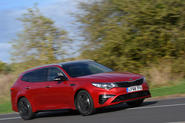 Kia Optima Sportswagon 2018 review - hero front