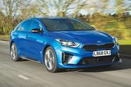 Kia Proceed GT-Line 2019 road test review - hero front