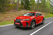 Lexus UX 2018 road test review - hero front
