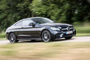 Mercedes-AMG C43 Coupe 2018 road test review hero front