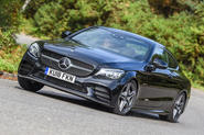 Mercedes-Benz C-Class Coupe 2019 review - hero front