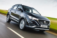 MG ZS EV 2019 road test review - hero front