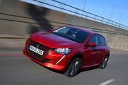 Peugeot e-208 2020 road test review - hero front