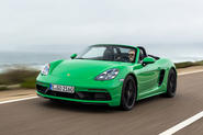 Porsche 718 Boxster GTS 4.0 2020 road test review - hero front