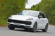 Porsche Cayenne Turbo 2018 road test review hero front