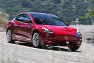 Tesla Model 3 2018 road test review hero front