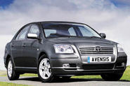 Avensis diesel gives BMW a fright