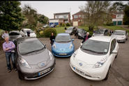 Electric car 'street of the future' project gets underway