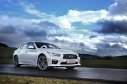 Infiniti has big plans for the future including, it appears, touring car racing