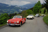 Driving in the Kitzbuehler Alpen Rallye - picture special