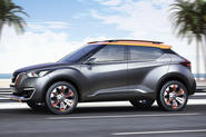 Nissan showcases new crossover for Brazil with Kicks concept