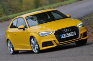 Audi A3 hero front