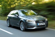 Audi A3 road country road