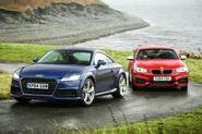 Comparison: new Audi TT versus BMW M235i