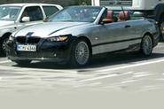 BMW's 3-series cabrio caught