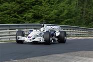 BMW F1 car hits the 'Ring