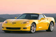 Corvette Z06 roars up Goodwood hill