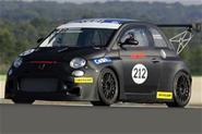 Hardcore Fiat 500 Abarth racer