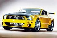 Mustang returns to the race track