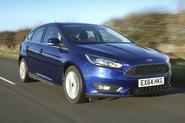 The popular Ford Focus in 1.5 TDCi Zetec form