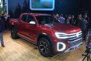 VW Atlas Tanoak pick-up concept