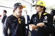 Alonso and Sainz