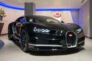 Bugatti Chiron at H.R. Owen London showroom