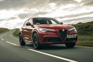 Alfa Romeo Stelvio Quadrifoglio 2020 UK first drive review - hero front