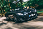 Aston Martin DBS Superleggera Volante 2019 UK first drive review - hero front