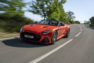 Aston Martin DBS Superleggera Volante 2019 first drive review - hero front