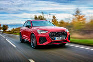Audi RS Q3 2019 UK first drive review - hero front