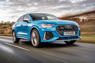 Audi RS Q3 Sportback 2019 UK first drive review - hero front