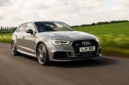 Audi RS3 Sportback 2019 UK first drive review - hero front