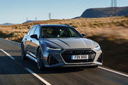 Audi RS6 2020 UK first drive review - hero front