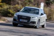 Audi SQ2 2019 UK first drive review - hero front