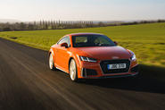 Audi TT Coupe 2019 UK first drive review - hero front