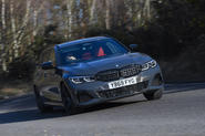 BMW 3 Series Touring M340i 2020 UK first drive review - tracking front