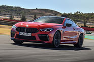 BMW M8 Competition Coupé 2019 first drive review - hero front