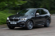 BMW X3 M40i 2018 UK review hero front