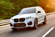 BMW X3 M Competition 2019 first drive review - hero front