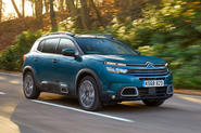 Citroen C5 Aircross 2019 UK first drive review - hero front