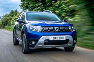 Dacia Duster Bi-Fuel 2020 UK first drive review - hero front