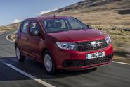 Dacia Sandero 2019 UK first drive review - hero front