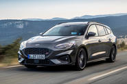 Ford Focus ST estate EcoBlue 2019 first drive review - hero front