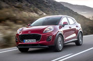 Ford Puma Titanium 2020 first drive review - hero front