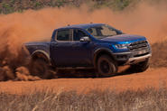 Ford Ranger Raptor 2018 first drive review front shot