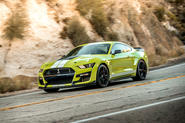 Ford Shelby Mustang GT500 2020 first drive review - hero front